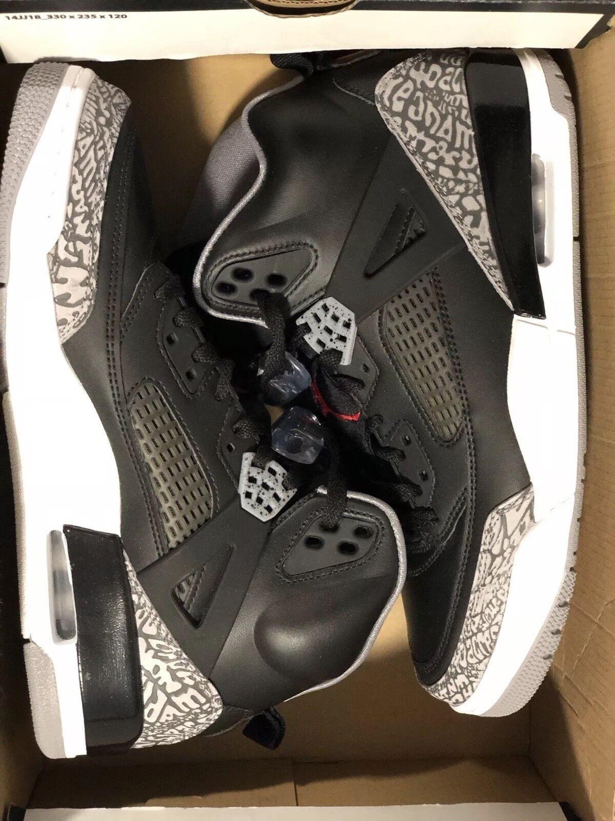Air Jordan Spizike 315371-034 nero Varsity rosso Cement Cement Cement grigio Uomo scarpe Dimensione 9 abb9fc