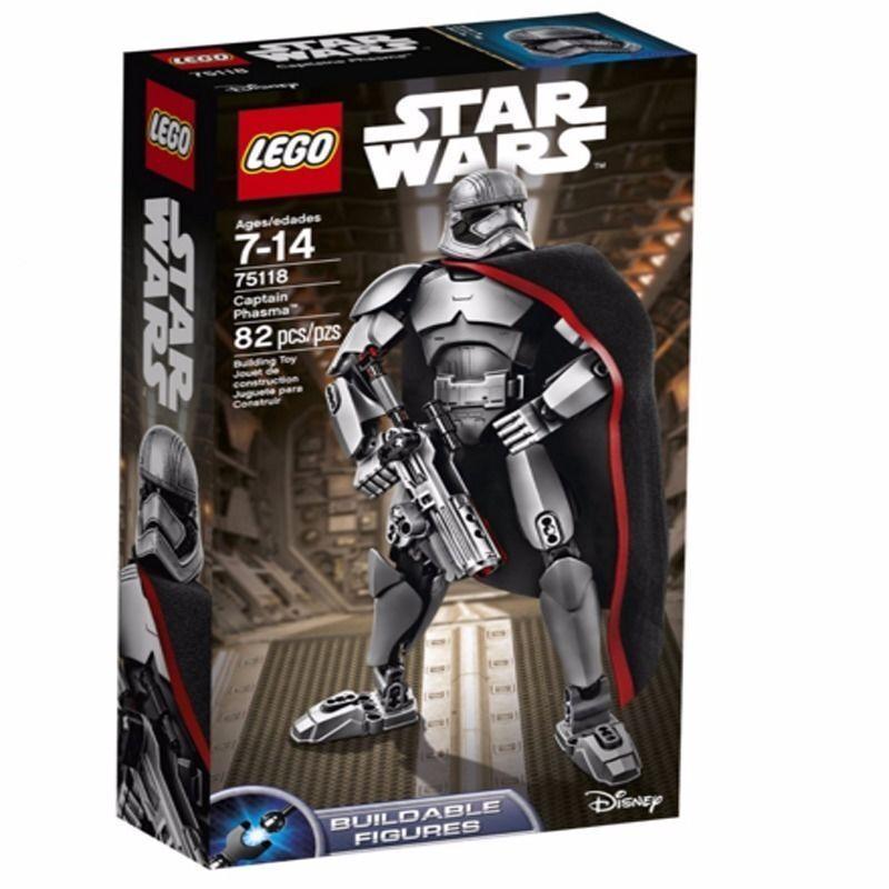Eldo LEGO  Star Wars  Captain Phasma 75118 MINT IN SEALED BOX