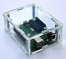 Plexiglas Klar Gehäuse für Arduino , Laserschnitt , Box Case Super Design Acryl