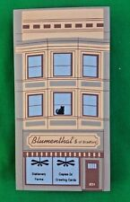 Cat's Meow Blumenthal's Stationery Elm St Series Faline '95 Shelf Sitter