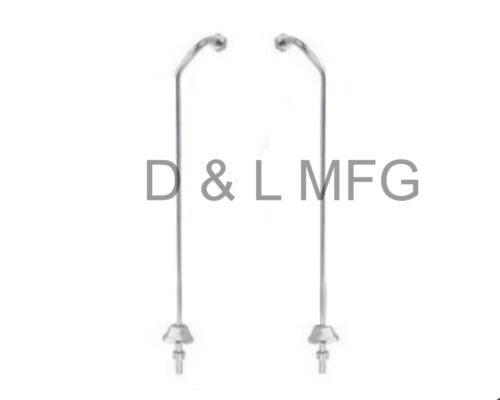 Double Offset Clawfoot tub supply lines//CO