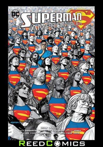 SUPERMAN AMERICAN ALIEN HARDCOVER New Hardback Collects 7 Issue Series Extras