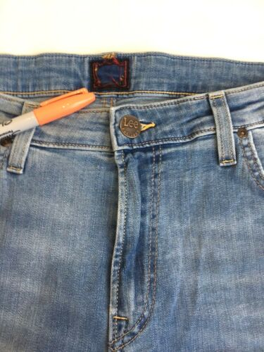 Rrp secondi Blue Stretch Skinny Jeans Malone Fit £ 80 Lee Jeans L190 Fresh vqRPqYT