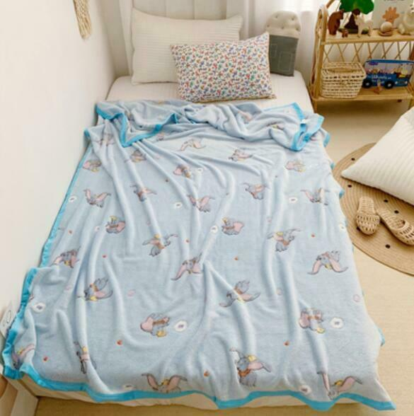Little Twin Stars couple kids coral fleece blanket bed blankets pillowcase bed q