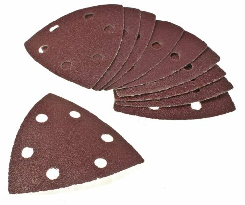TRIANGLE SANDING PAD DELTA MIXED PALM MOUSE SANDER SAND PAPER SHEET VELCRO