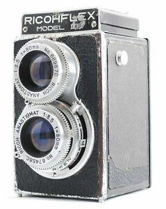 AS-IS-RICOH-FLEX-MODEL-B-Film-camera-From-Japan