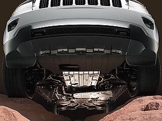 11-18 Jeep Grand Cherokee New Fuel Gas Tank Skid Plate Off Road Mopar OEM