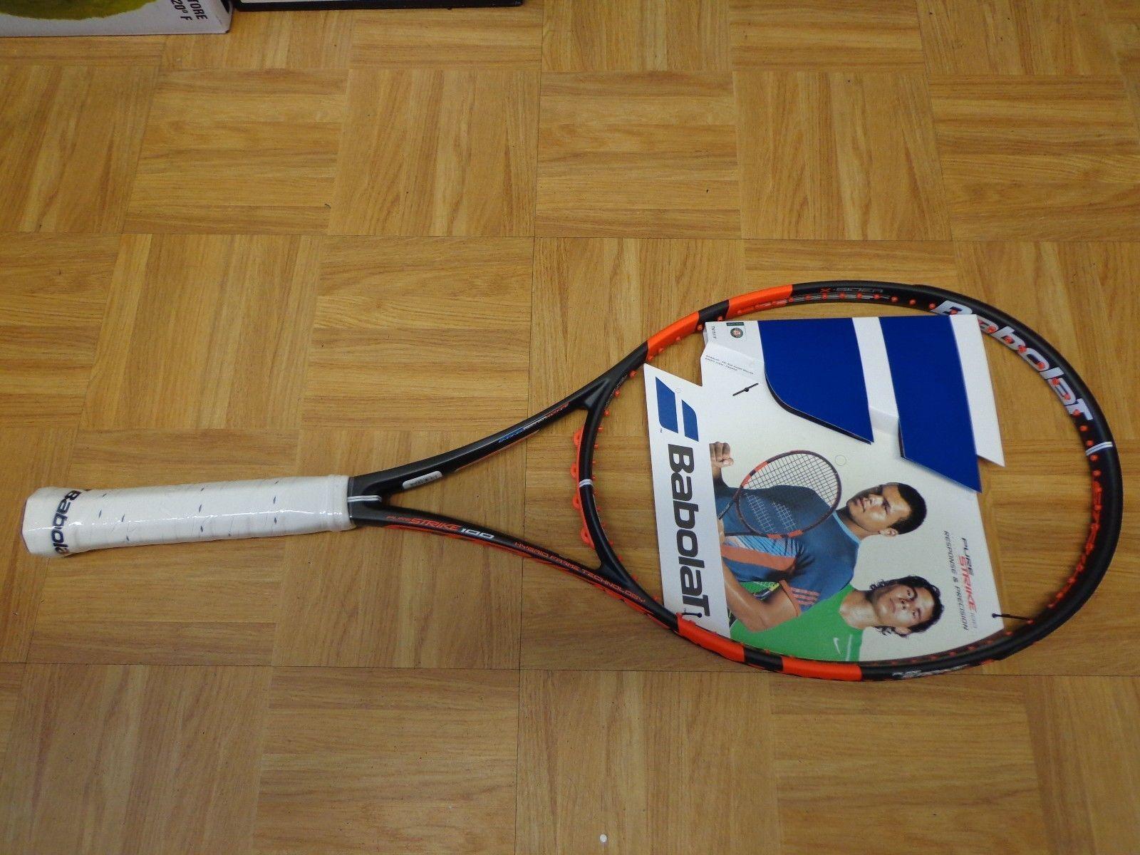 Nuevo 2015 Babolat Pure Strike 100 cabeza 16x19 4 1 4 Grip Tenis Raqueta