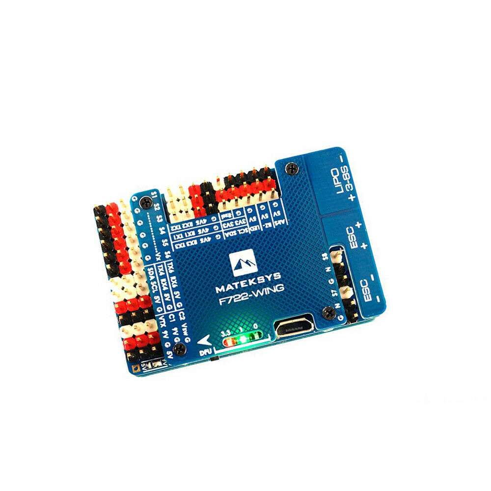 Matek Systems F722-WING  STM32F722RET6 volo Controller Built-in OSD for RC  solo per te
