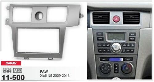 CARAV 11-500 2-DIN Car Radio Dash Kit panel for FAW Xiali N5 2009-2013