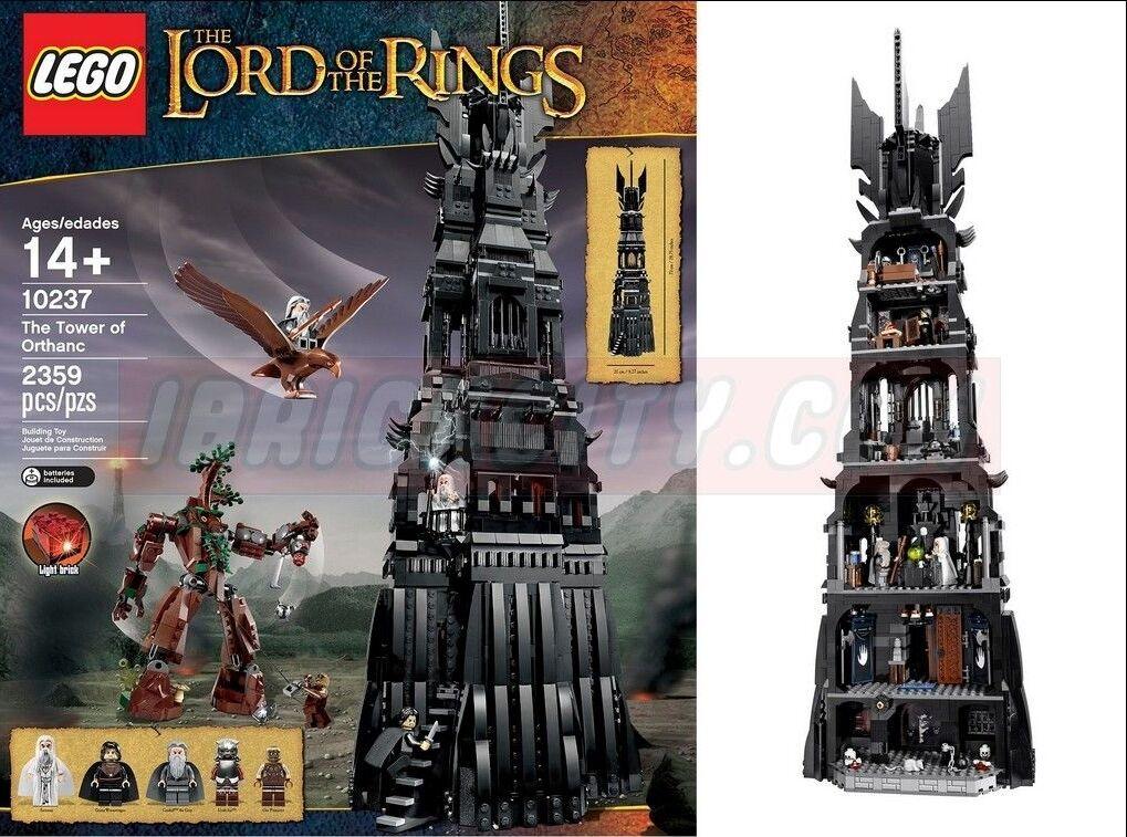 Lego El Señor De Los Anillos La torre de Orthanc (10237) vendido-Nuevo En Caja