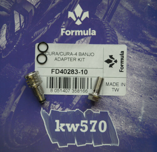 Details about  /Formula Original Formula Banjo adapter kit for Cura//Cura 4 FD40283-10