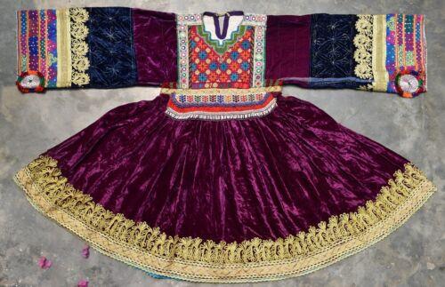 80s RARE AFGHAN NOMAD VINTAGE KUCHI DRESS