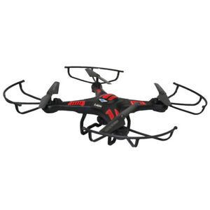 Flying-Gadgets-2-4G-4-Channel-X-CAM-Quadcopter-Heli-Drone-with-HD-Camera-New