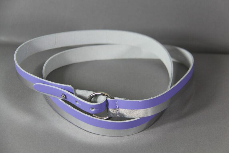 UnabhäNgig SchÖner GÜrtel Flieder - Silberfarben GrÖsse 90 Kataloge Werden Auf Anfrage Verschickt