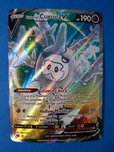 Galarian Cursola 071//073 Champions Path Pokemon Ultra Rare *NM//M*