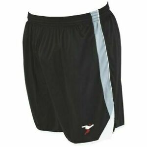 Homme-Football-Gym-Sports-Precision-Running-Jogging-Training-Noir-Shorts-S-M-L