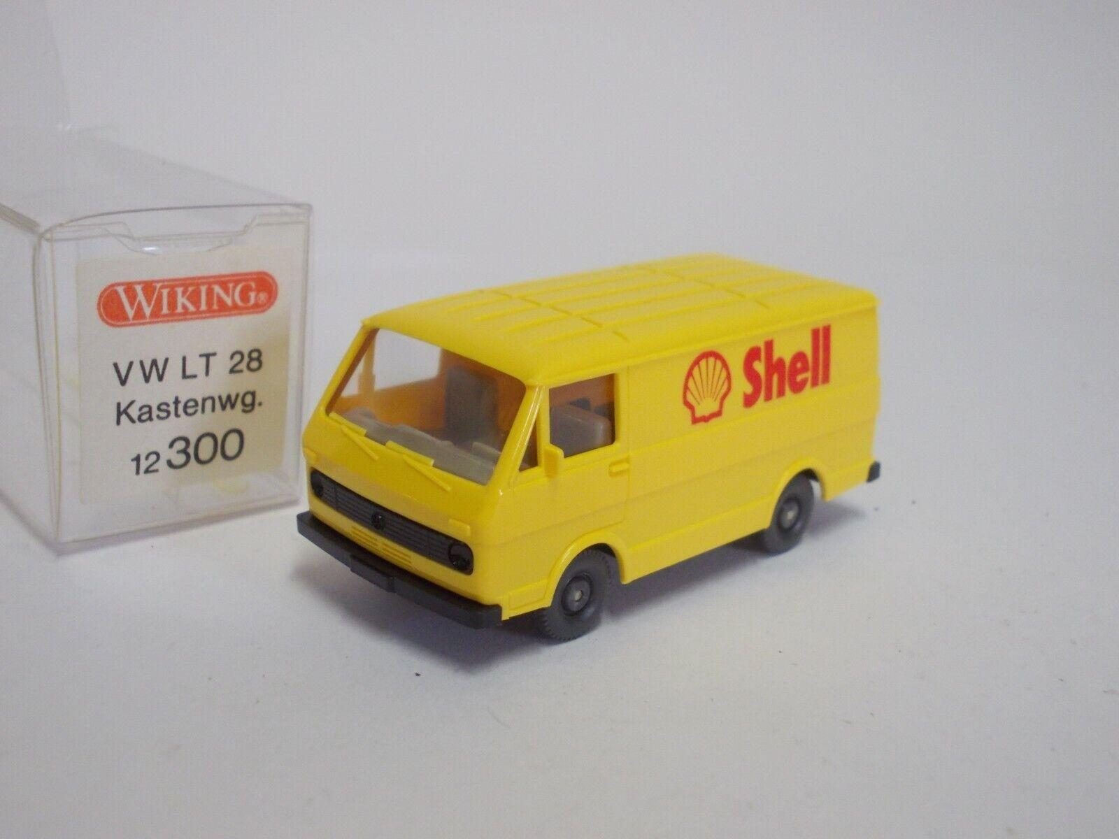 1//87 Wiking VW LT 28 Shell Kasten 300