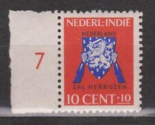 Nederlands Indie Indonesie 291 MNH rand Netherlands Indies 1941 Vrij Nederland