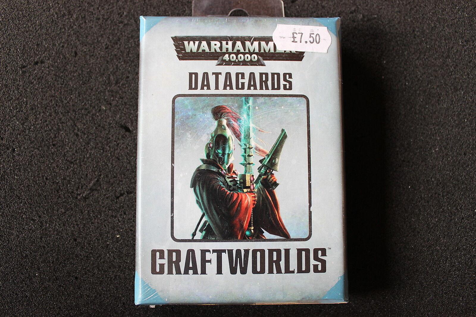 Warhammer 40k games workshop eldar craftworlds datacards verwendet wurde wh40k