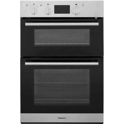 Hotpoint DD2540IX Class 2 Built In 60cm Electric Double Oven Stainless Steel