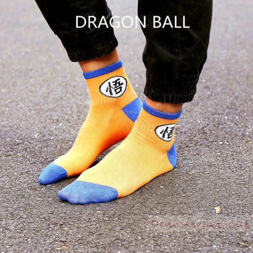 4 paia di Dragon Ball Z Calzini Unisex COPPIE Lovers Casual morbido cotone sport calzini