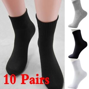 Practice-10-Pairs-Men-039-s-Socks-Winter-Thermal-Casual-Soft-Cotton-Sport-Sock-Gift