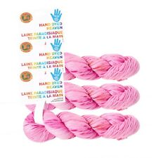 Lion Brand Yarn 186-205 Hand Dyed Heaven Pack of 3 hanks Greyhound