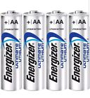 Energizer Ultimate Lithium AA Batteries Expires 2036 x 4  < FREE SHIPPING >