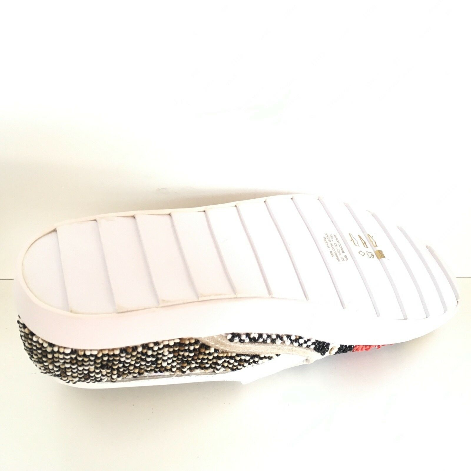 MALIPARMI scarpe Scarpe n. 36 MALW51 donna woman MALW51 36 multicolore tessuto punta gialla 82fbaf