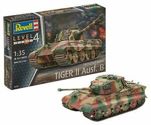 Revell-DE-03249-German-King-Tiger-Il-Tank-Ausf-B-Henschel-model-kit-1-35