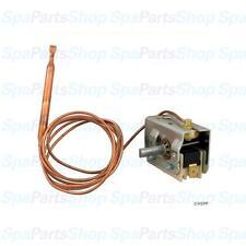 "Spa Hot Tub Thermostat Invensys 1/4""diameter Bulb 48"" Cap 25Amp SPST 275-2535-08"