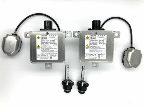 2x New 14-16 Mitsubishi Outlander Xenon HID Headlight Ballast /& Philips D4S Bulb