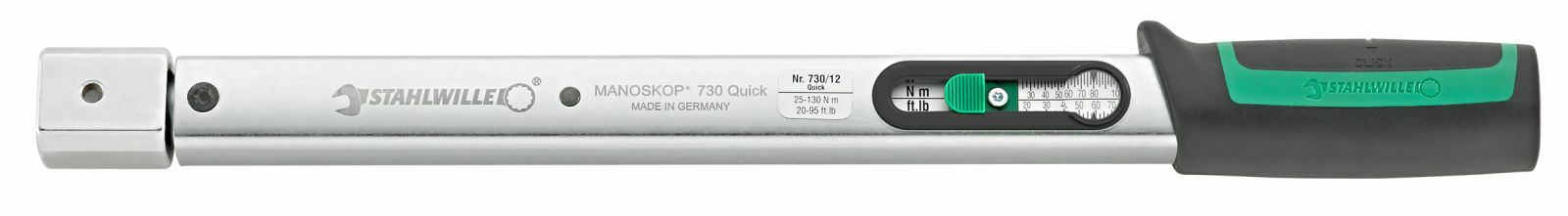 Stahlwille TORQUE WRENCH WITH CUT-OUT 50184012