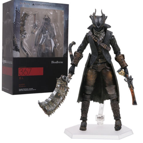 6inch Figma 367 Movable Variable Bloodborne Hunter Action Figure Toy Figurine