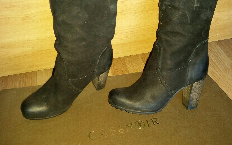 Gafeschwarz, Stiefel Tolle Gr. von schwarz Wildleder, 37