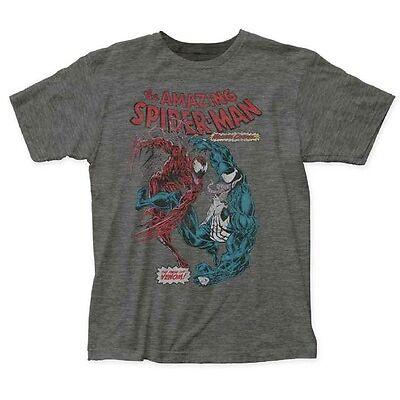 Spider-Man Carnage Vs Venom Marvel Comics Licensed Adult T Shirt
