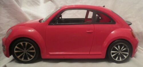 Barbie Pink Volkswagon Car 2013 by Mattel EXCELLENT