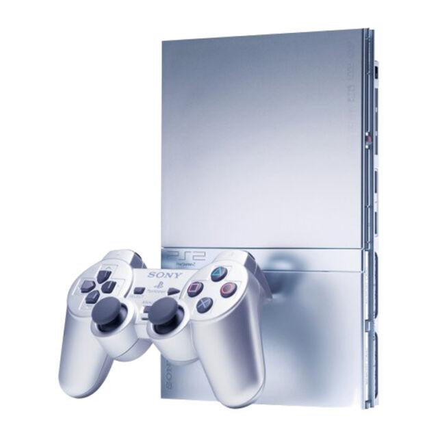 Ebay Uk: Sony PlayStation 2 Slim Satin Silver Console (SCPH-90003SS