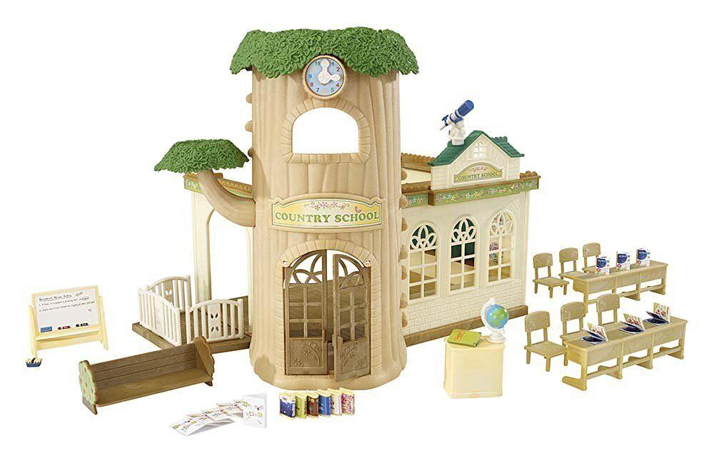 Calico Critters-Country Tree School-CC2924 - Figure, Furniture & School Set