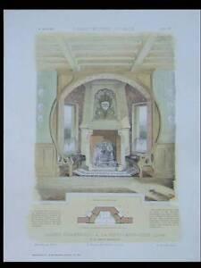 Audacieux La Ferte Saint Aubin, Maison -1906- Planches Architecture- Herblay