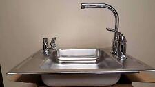 Elkay DRKAD222040X Lustertone Single Bowl Classroom Sink