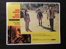 1973 SHOWDOWN Original 14x11 Lobby Card #4 FN 6.0 Rock Hudson Dean Martin