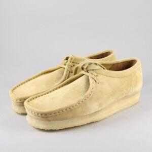 cerrar Efectivamente Consejo  Clarks Originals Womens ** Wallabees Maple Suede Shoe ** UK 4,5,6,7 G | eBay