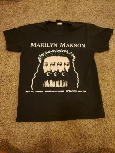 Vintage Marilyn Manson BELIEVE Shirt