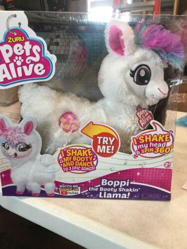 Pets Alive Boppi the Booty Shakin/' Llama White NEW DAMAGED BOX