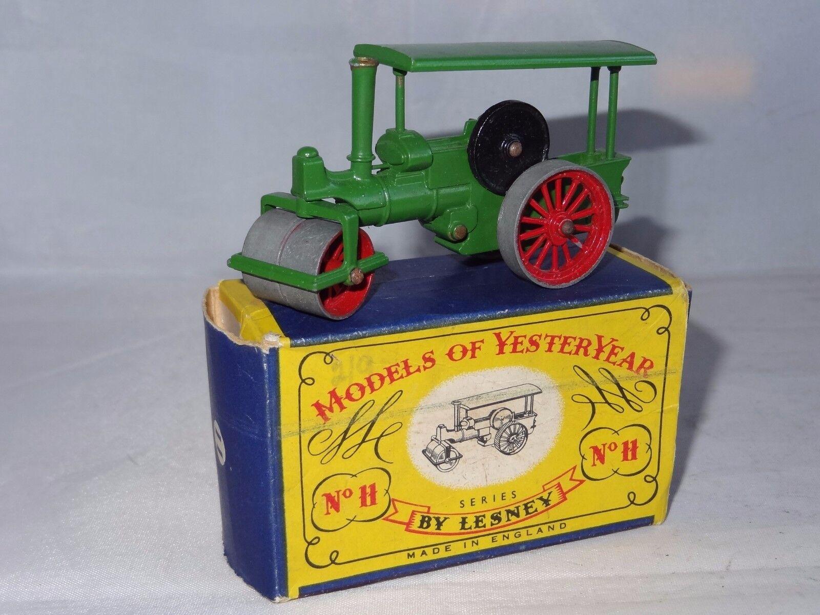 (W) lesney matchbox YESTERYEAR MOY - AVELING & PORTER STEAM ROLLER - 11