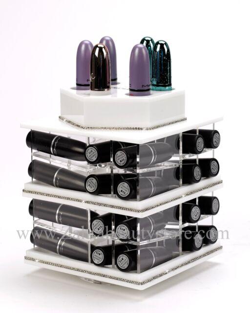 Zahra Beauty MINI Spinning Lipstick Towers- Acrylic Lipstick lipbalm holders