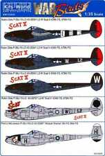 Scat II WARBIRD DECALS 1//48 P38J Scat Wicked Woman  WBS148077