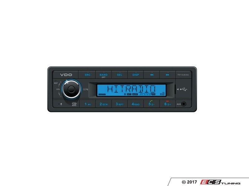 Continental RADIO USB MP3 WMA BLUETOOTH 12V Boat TR712UB-BU